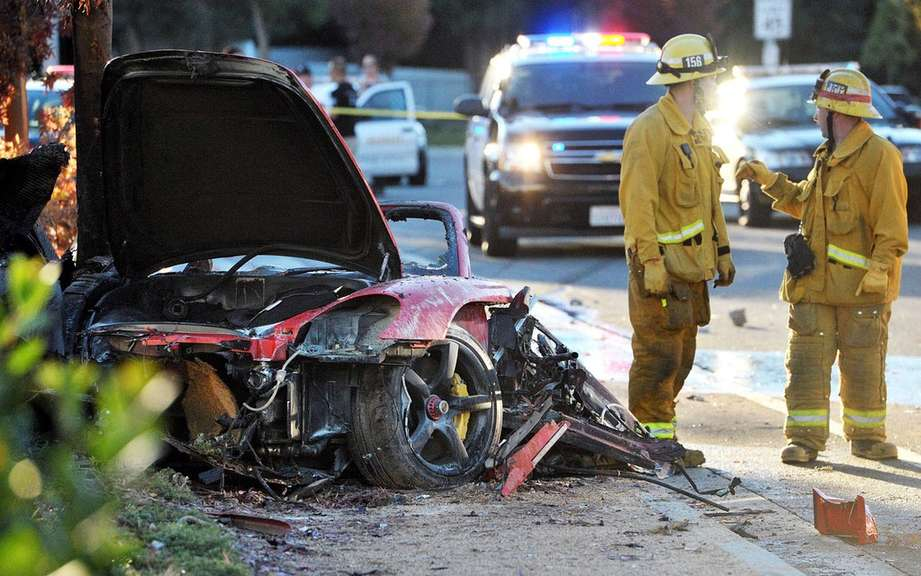 The actor Paul Walker who had died in a car accident