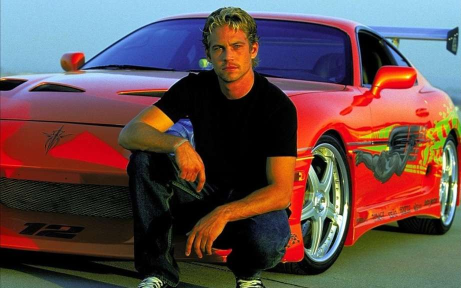 The actor Paul Walker who had died in a car accident picture #5