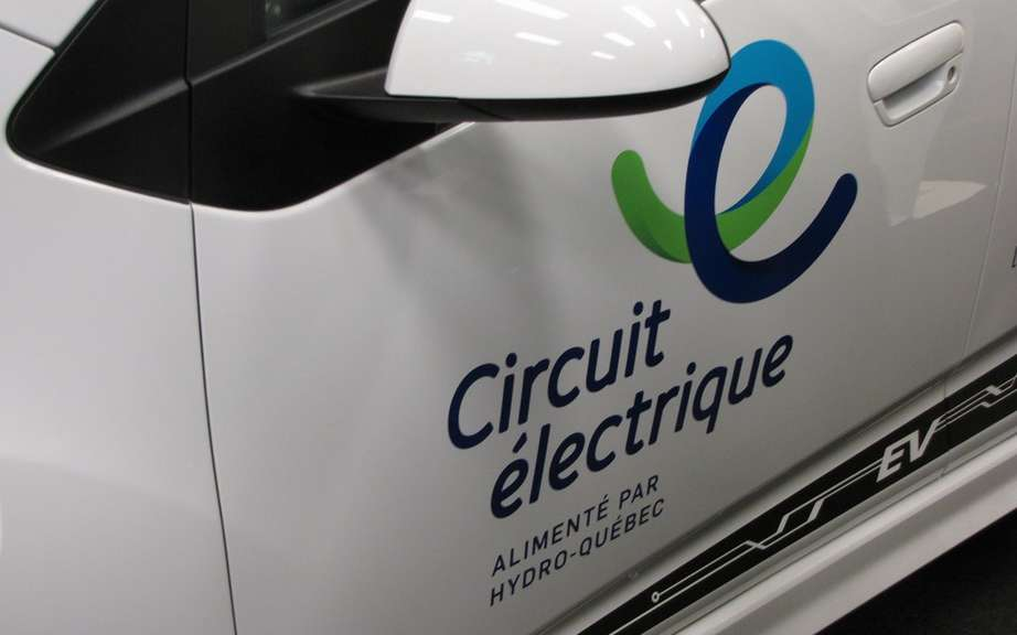 A first terminal of fast charging for electric circuit