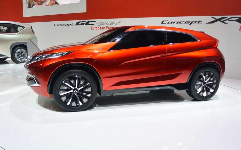 XR-Mitsubishi PHEV Concept: the next RVR