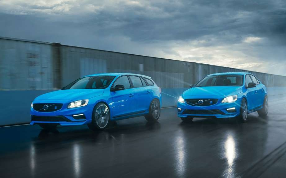 Volvo S60 and V60 Polestar: Swedish muscled picture #5