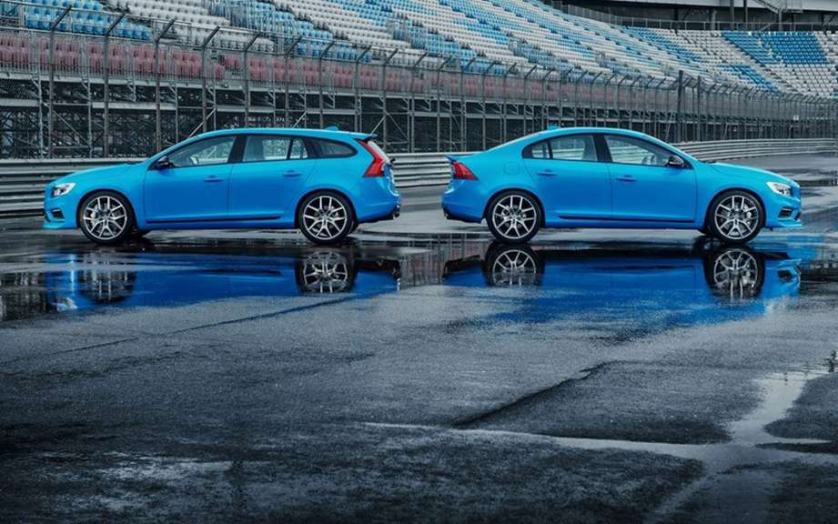 Volvo S60 and V60 Polestar: Swedish muscled picture #6