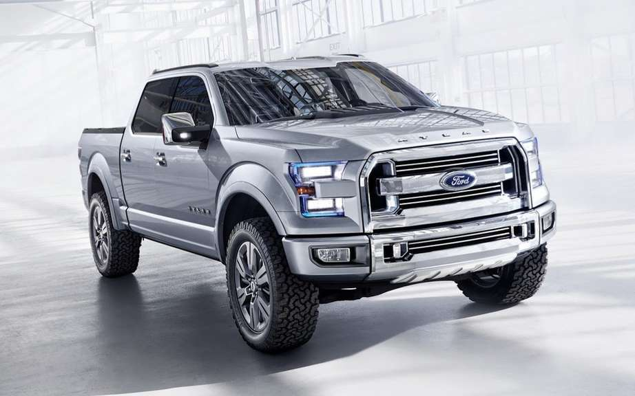 Ford F-150 natural gas: start of production