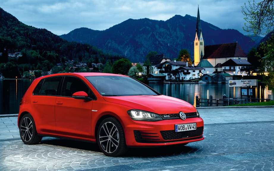 "Volkswagen Golf VII elue ""Car of the year"" in Japan picture #1"