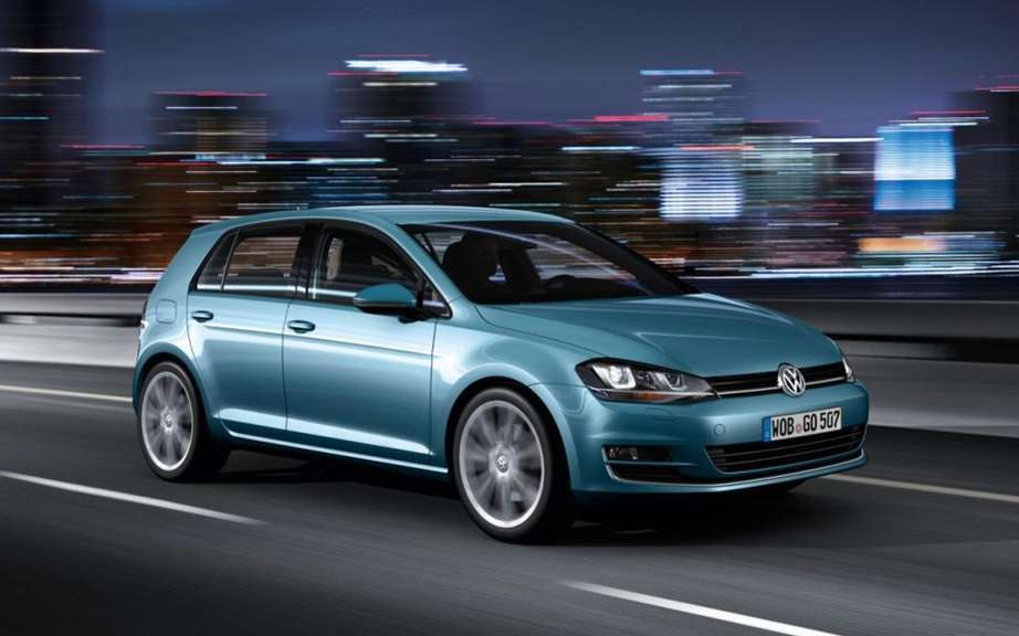 "Volkswagen Golf VII elue ""Car of the year"" in Japan picture #4"