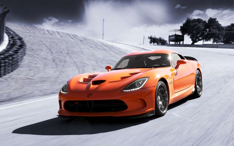 SRT Viper Time Attack only the track picture #4