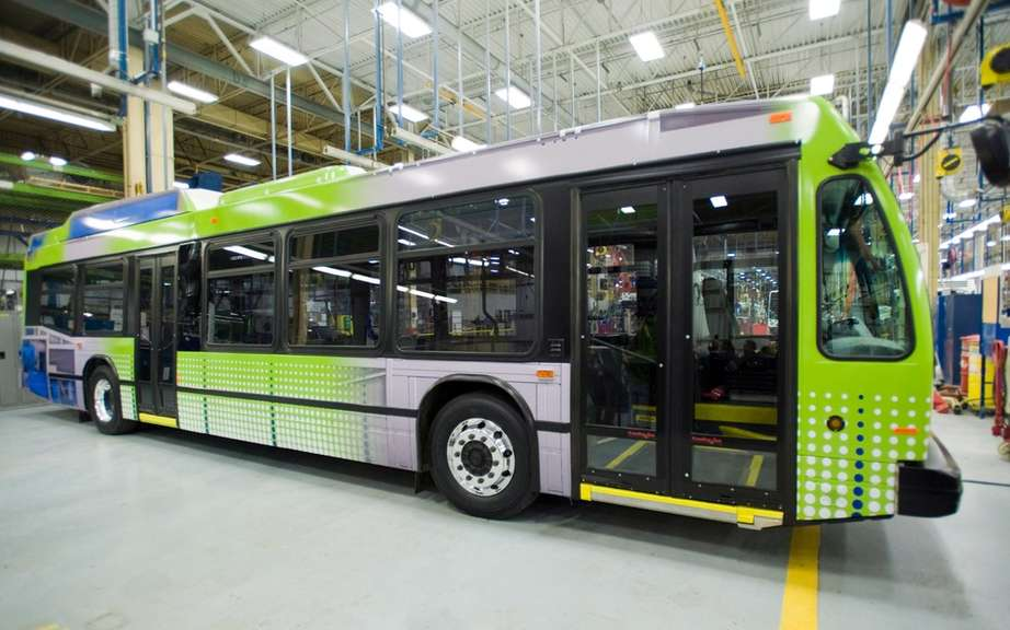 Volvo and the Societe de Transport de Montreal in partnership
