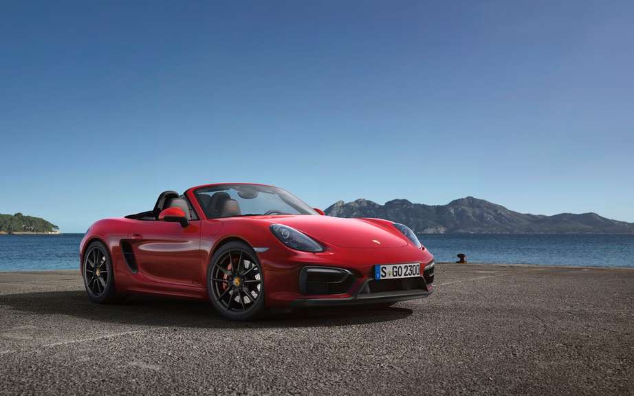 The Boxster and Cayman GTS Unveiled picture #13