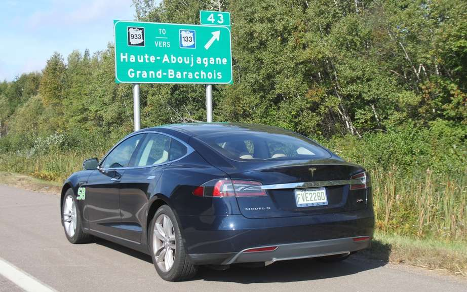 Tesla Model S to the police service picture #2