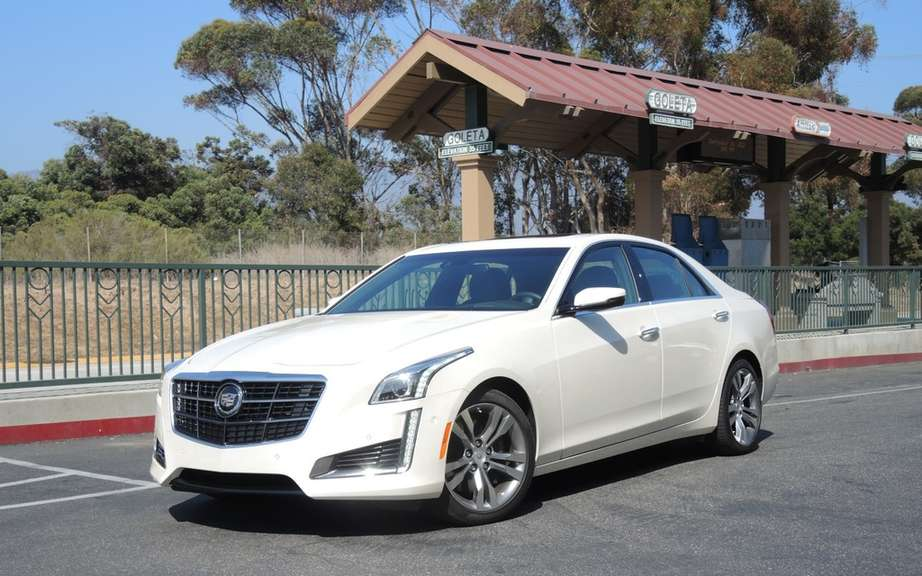 Cadillac CTS 2014 Car of the year by Motor Trend