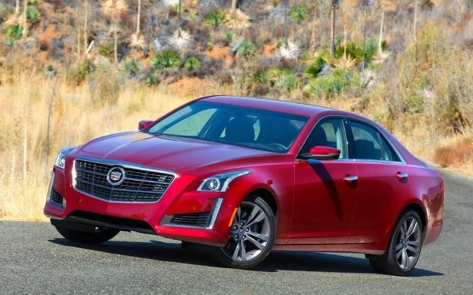 cadillac cts 2014 car of the year by motor trend. Black Bedroom Furniture Sets. Home Design Ideas