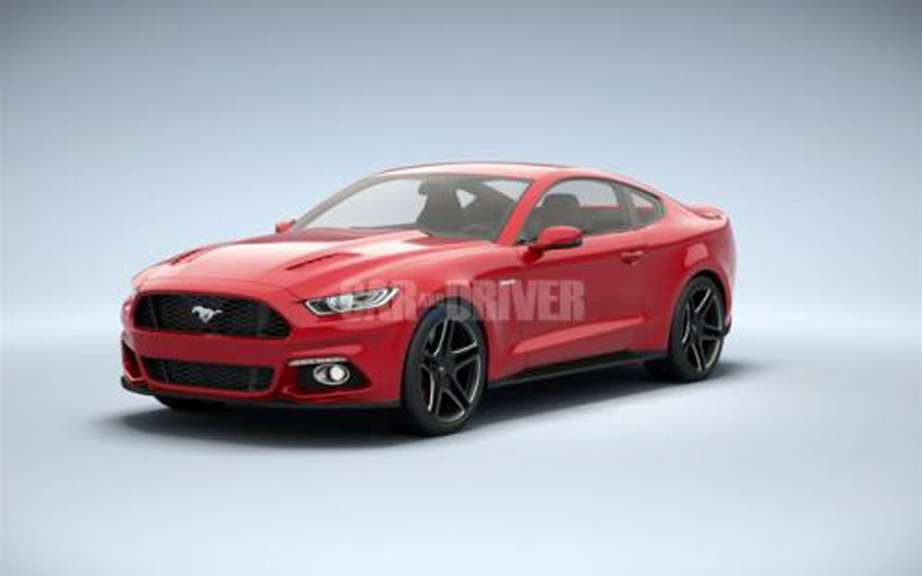 Car & Driver unveiled the Ford Mustang 2015! picture #8