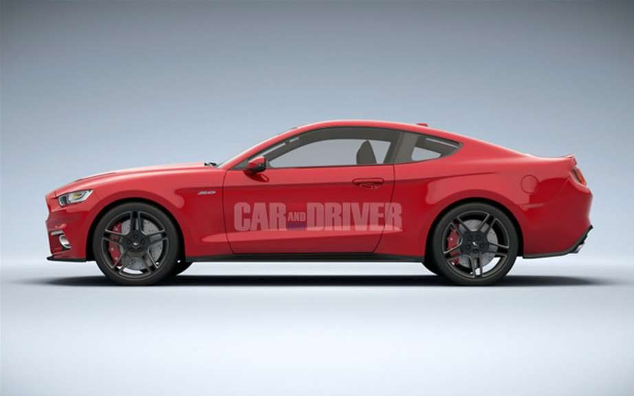 Car & Driver unveiled the Ford Mustang 2015! picture #9