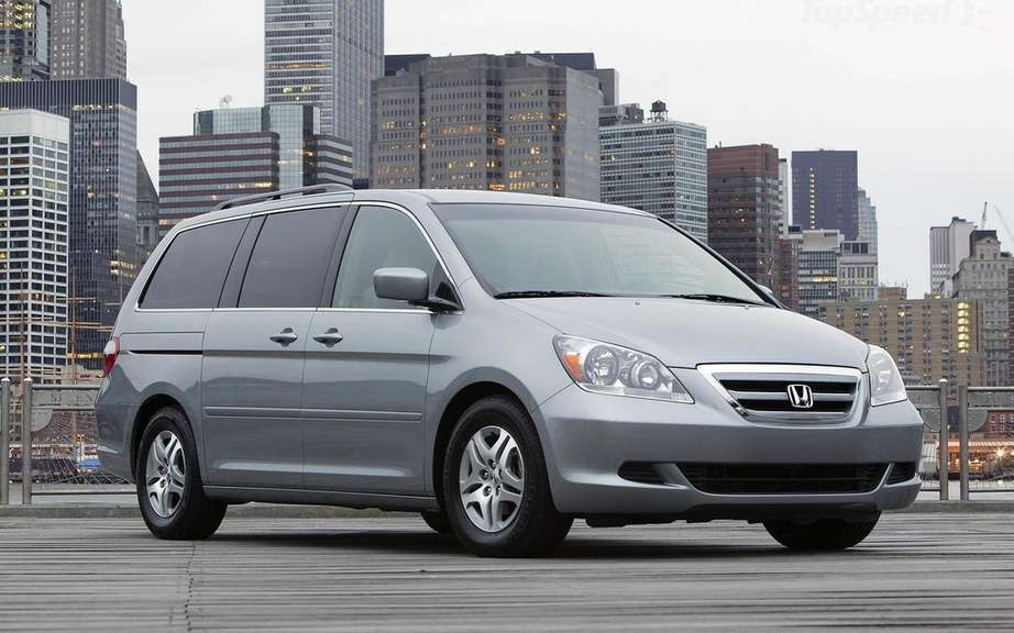 Honda Odyssey 2007 and 2008 RECALLED picture #3