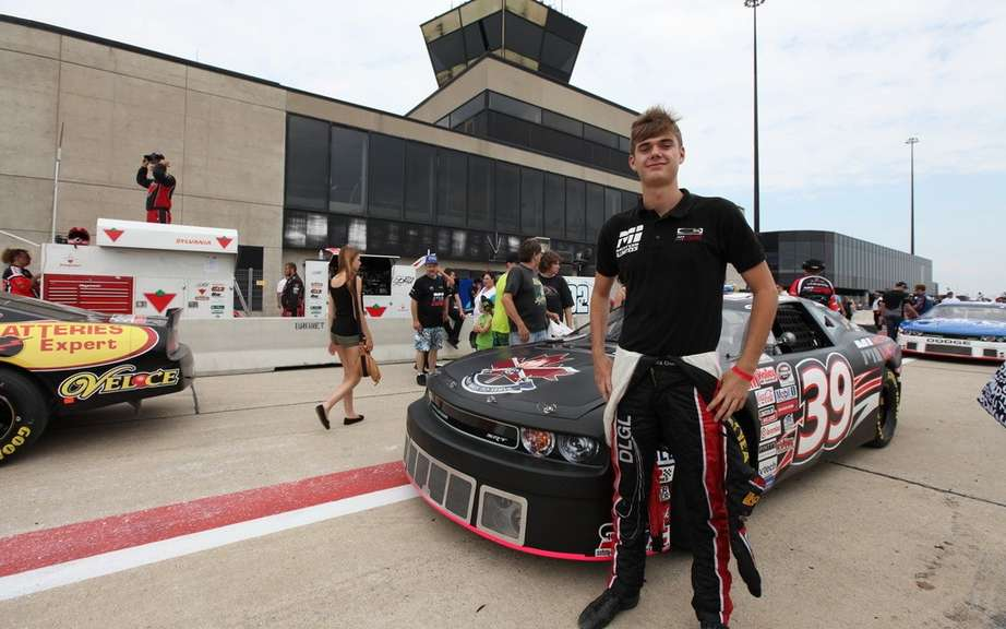 Alex Guenette: Rookie of the year in NASCAR Canadian Tire