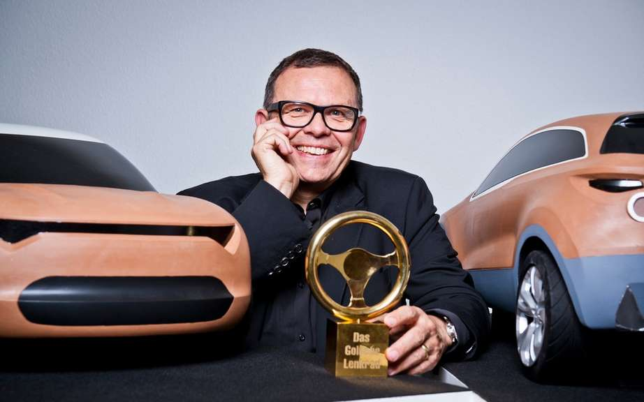 A Golden Steering Wheel for Peter Schreyer picture #5