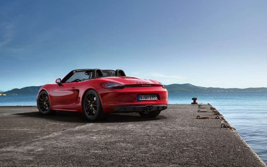 The Boxster and Cayman GTS Unveiled picture #14