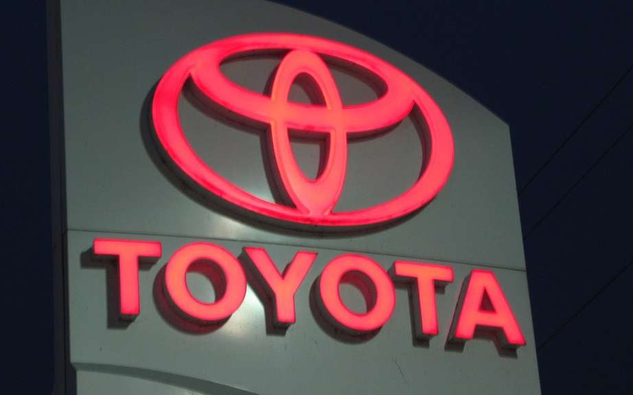 Toyota Canada sales rose in October