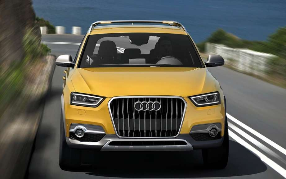 Audi Q1: what is more serious than it seems