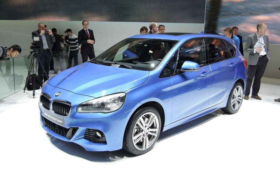 BMW presents its first model of Serie 2