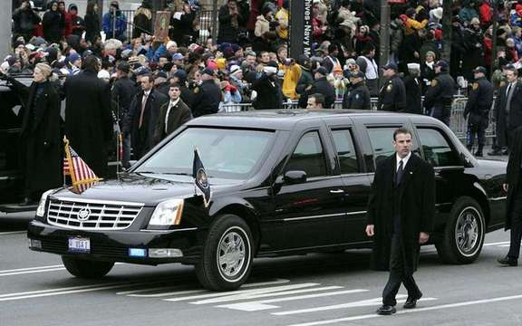 Limousine Barack consumes as much as a tank ...