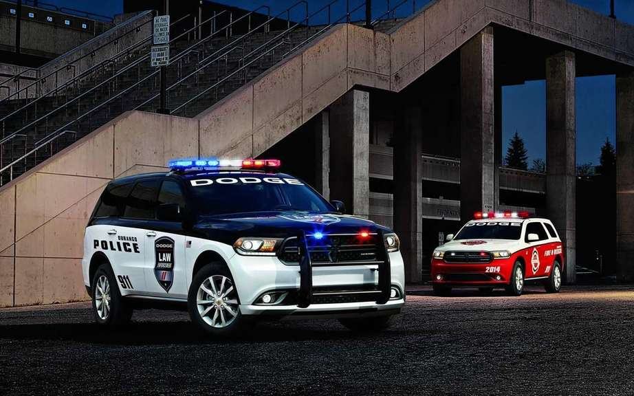 Dodge Durango 2014 designed for emergency services picture #4