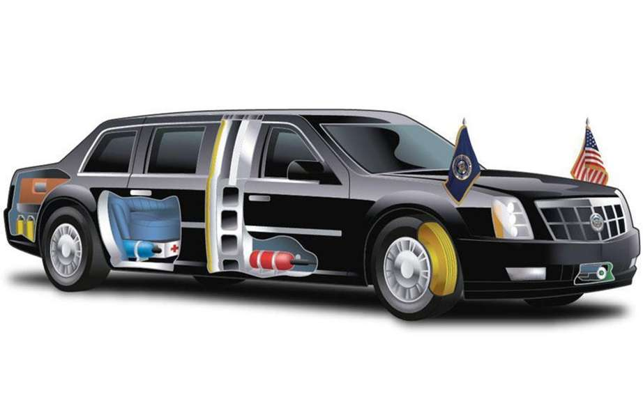 Limousine Barack consumes as much as a tank ... picture #2