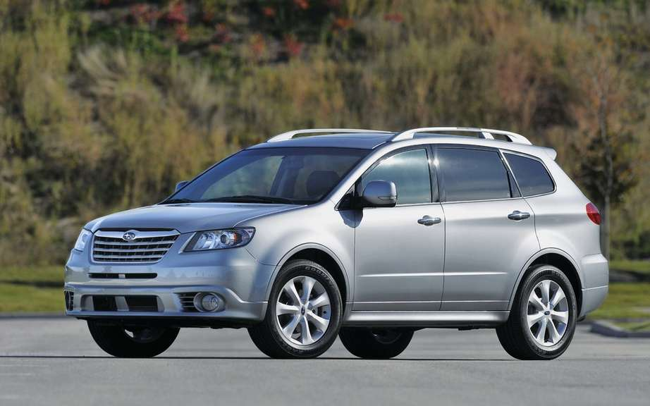 Subaru will put an end to the production of its Tribeca picture #2
