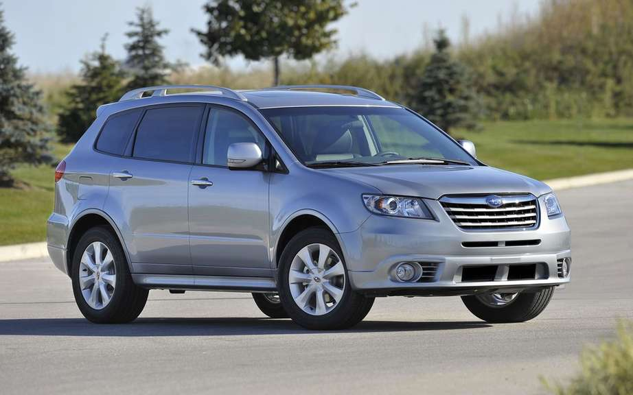 Subaru will put an end to the production of its Tribeca picture #3