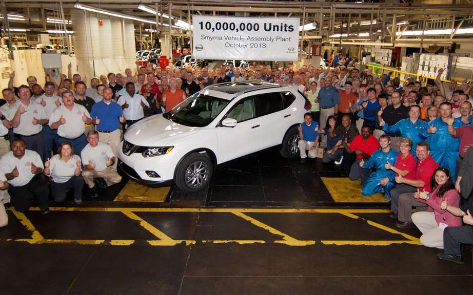 Nissan celebrates the construction of 10 million vehicles in Tennessee picture #3