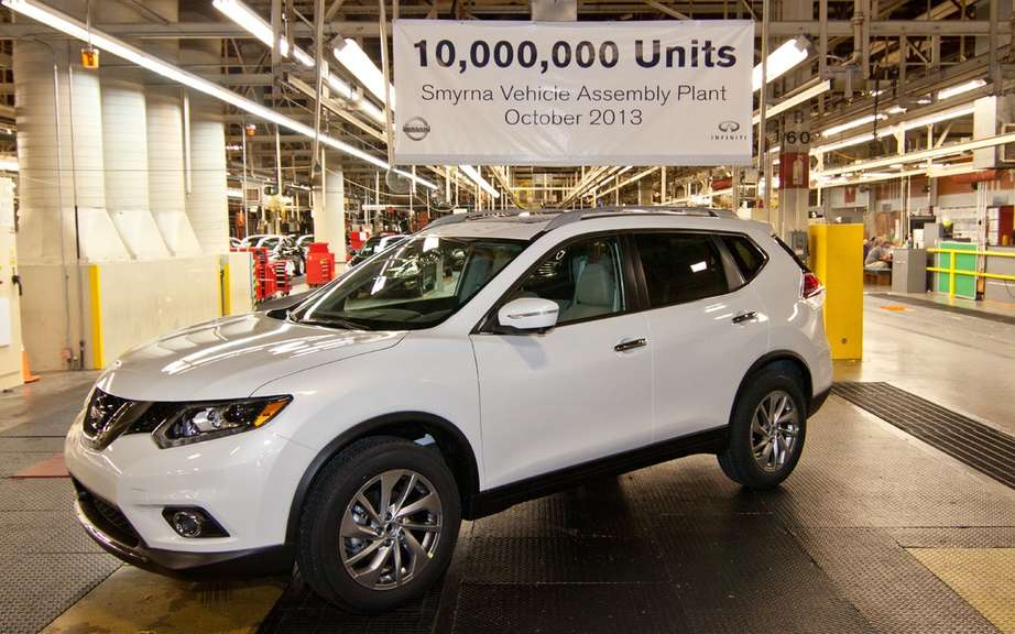 Nissan celebrates the construction of 10 million vehicles in Tennessee picture #4