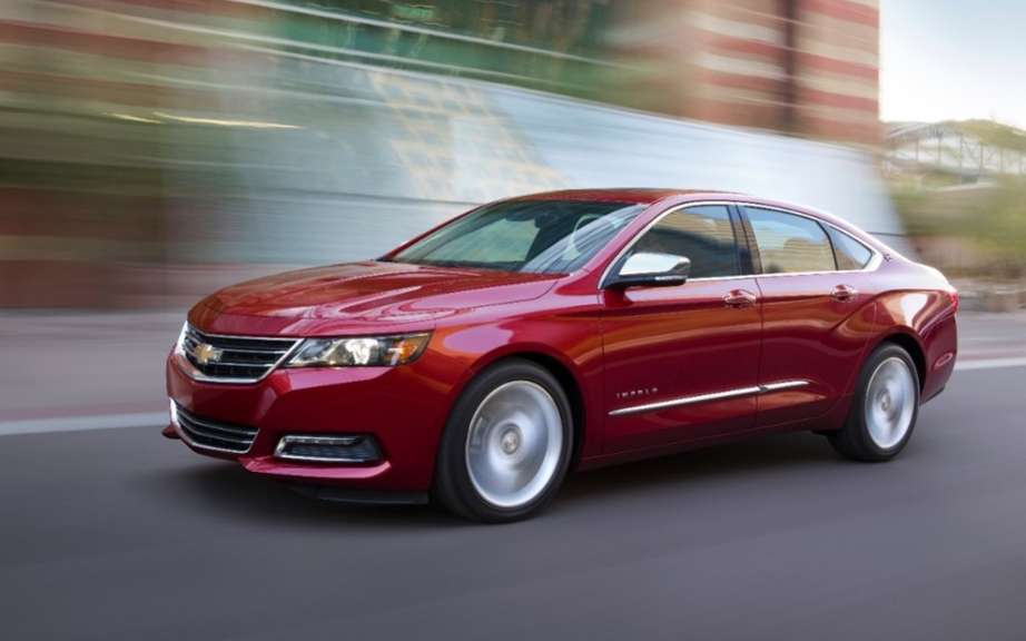 Chevrolet Impala 2015 moves to bi picture #4