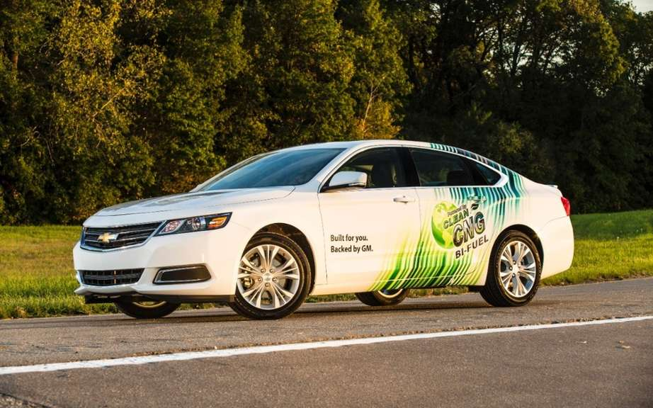 Chevrolet Impala 2015 moves to bi picture #6