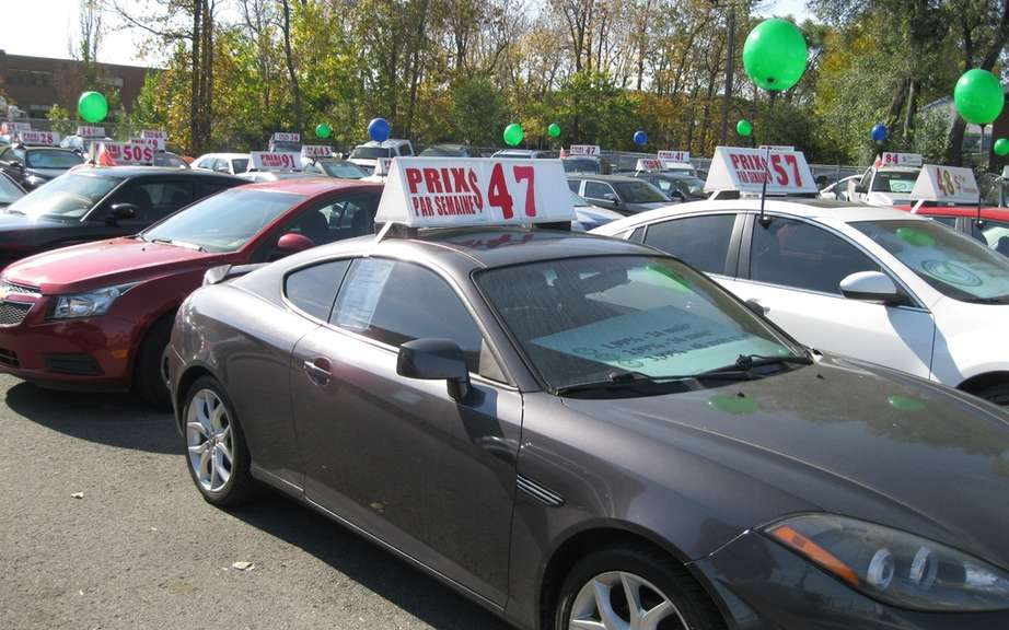Rising prices for used cars in Canada