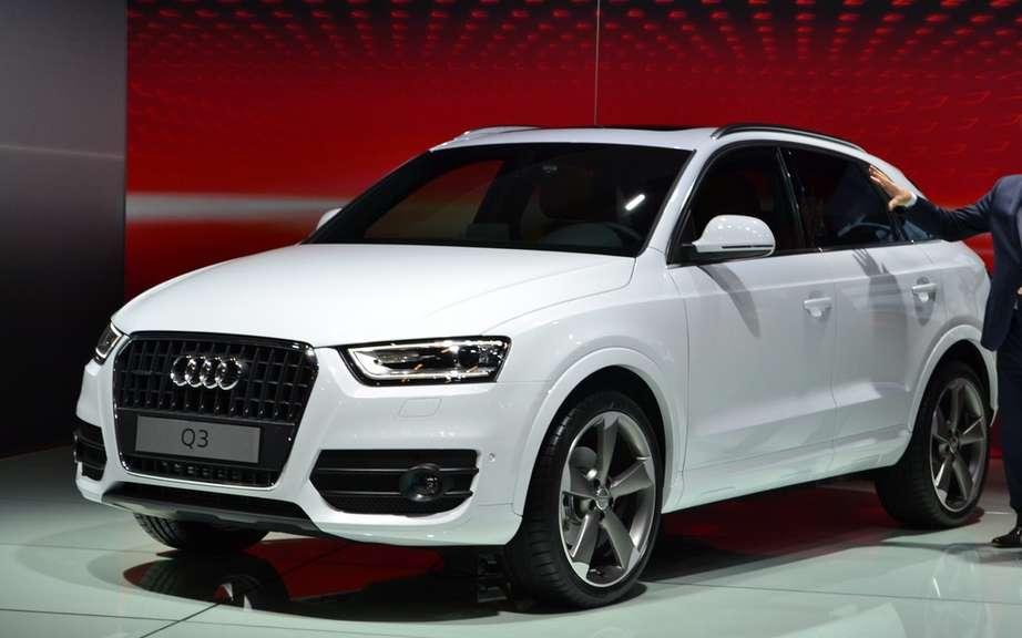 Audi Q3 sold in North America