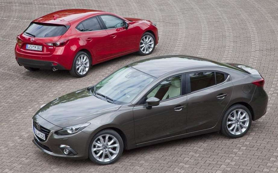 Mazda wants to sell 500,000 annually Mazda3 picture #3