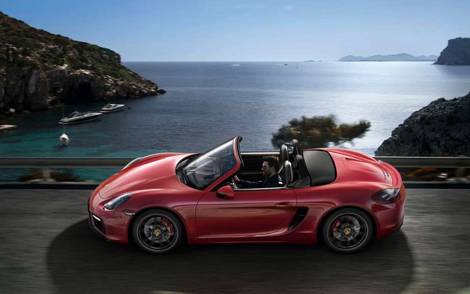 The Boxster and Cayman GTS Unveiled picture #17