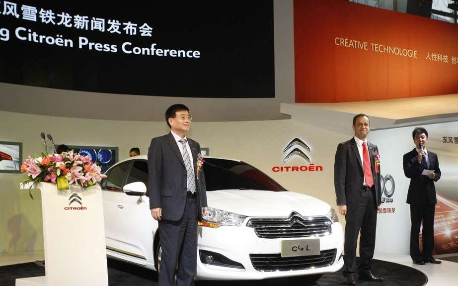 Part of PSA Peugeot-Citroen has happen Dongfeng picture #5