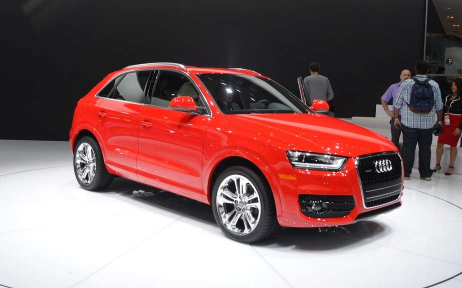 Audi Q3 sold in North America picture #3