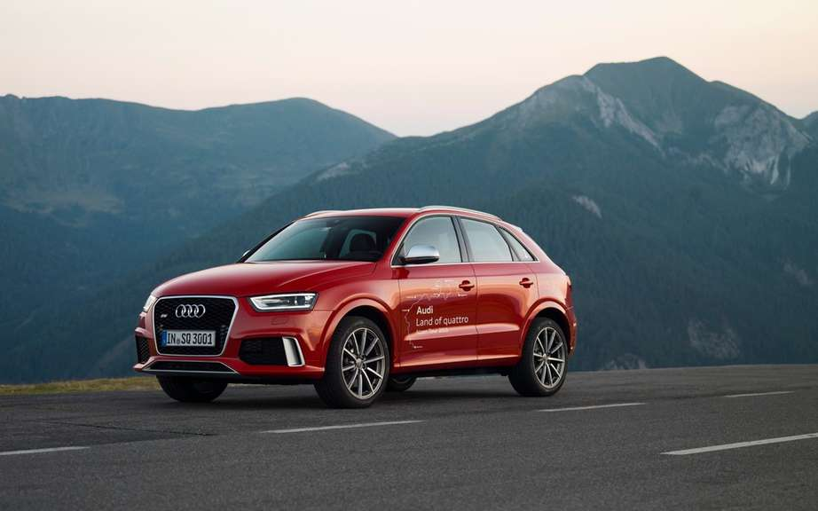 Audi Q3 sold in North America picture #4