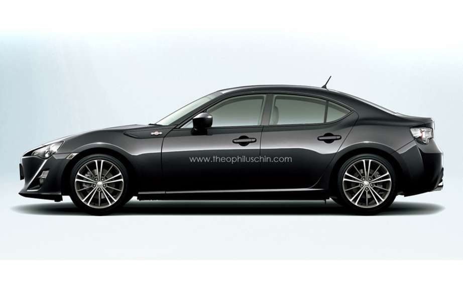 Toyota GT86: cutting a four door would be considering? picture #3