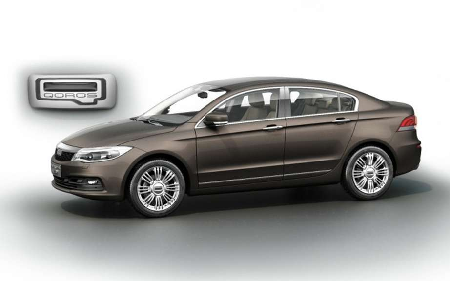 Qoros: a large sedan and a large SUV developing