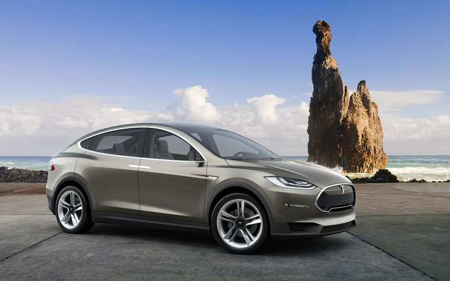 Tesla Model X: 6000 copies already reserved picture #2