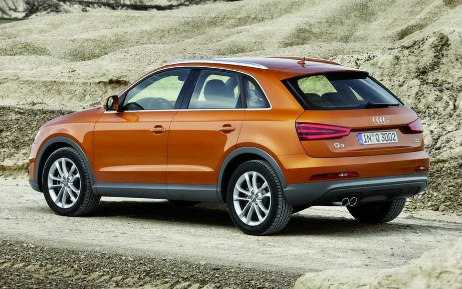 audi q3 sold in north america. Black Bedroom Furniture Sets. Home Design Ideas
