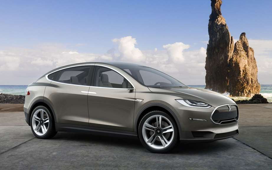 Tesla Model X: 6000 copies already reserved picture #4