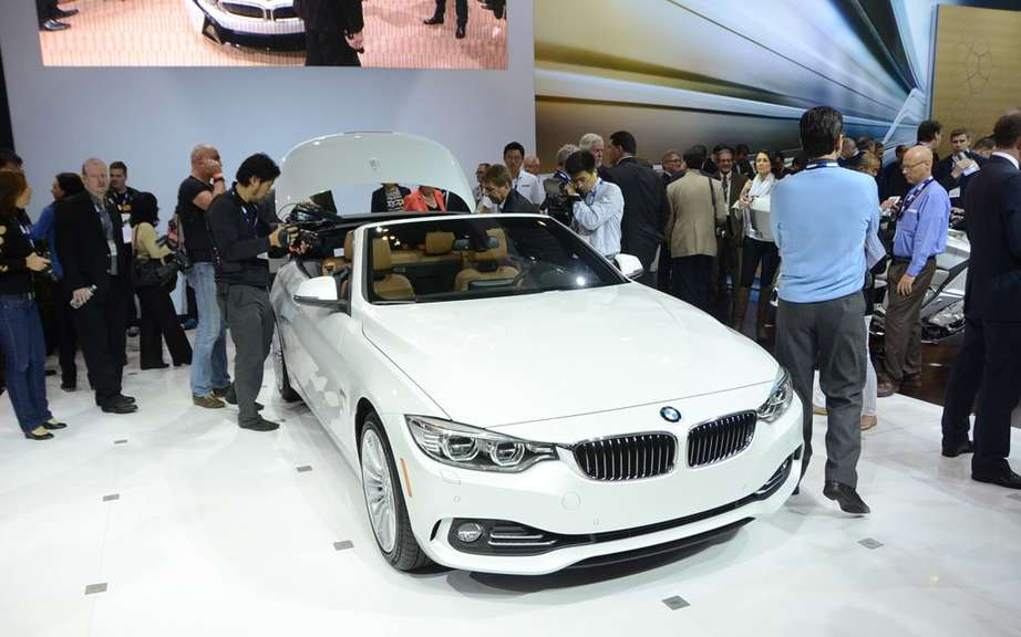 BMW 4 Series Convertible: leak pictures on canvas picture #1