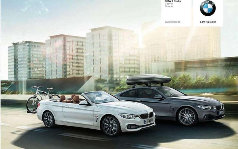 BMW 4 Series Convertible: leak pictures on canvas picture #6