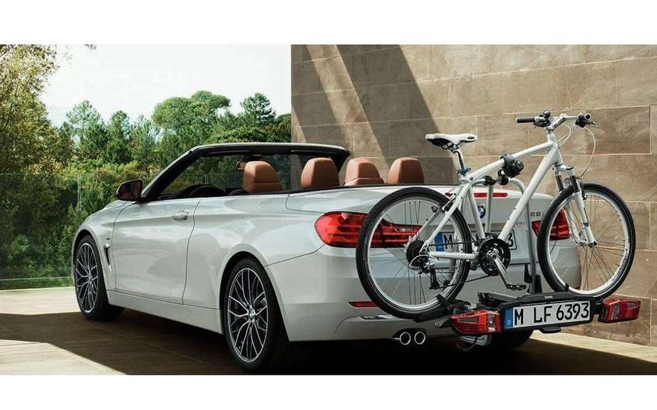 BMW 4 Series Convertible: leak pictures on canvas picture #7