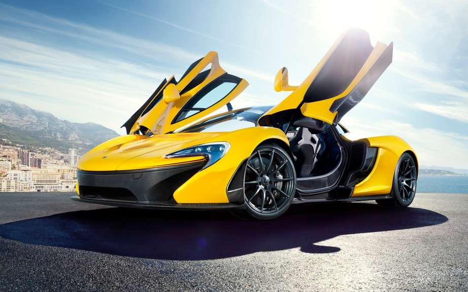 McLaren confirms the beginning of the production of P1