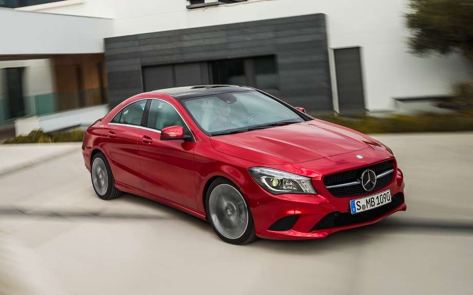 Mercedes-Benz CLA: no diesel in America